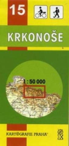 TM 15 Krkonoše  1:50 000