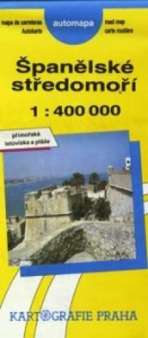 Španělské středomoří  1:400000