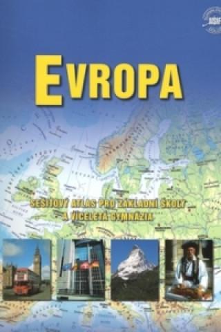 Evropa - sešitový atlas