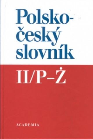 Polsko-český slovník II/P - Z