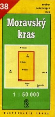 TM 38 Moravský kras 1:50 000