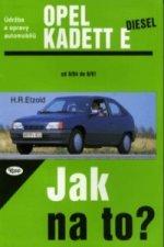 Opel Kadett diesel od 9/84 do 8/91