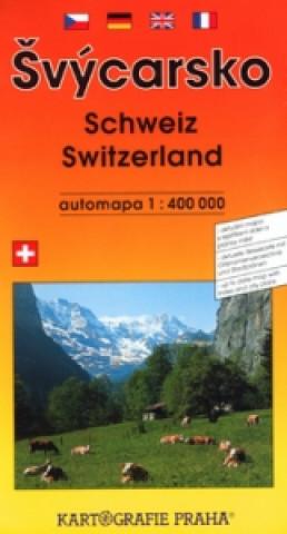 Švýcarsko automapa 1:400 000