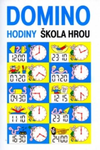 Hodiny - domino