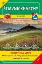 Štiavnické vrchy 1:50 000