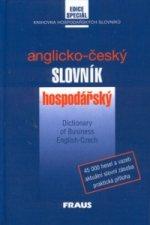 Anglicko-český slovník hospodářský