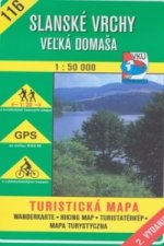 Slanské vrchy Veľká Domaša 1 : 50 000