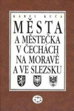 Města a městečka 6.díl v Čechách na Moravě  a ve Slezsku