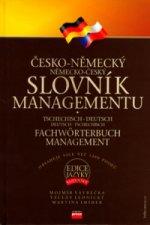 Česko-německý, německo-český slovník managementu