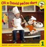 Oli a David pečou dort