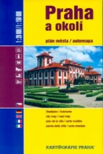 Praha a okolí 1:20 000/1:150 000