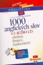 1000 anglických slov + 3 CD