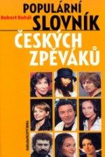 Populární slovník českých zpěváků pop music