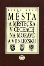 Města a městečka VIII.díl v Čechách, na Moravě a ve Slezku