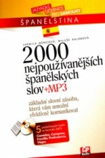 2000 nejpoužívanějších španělských slov + MP3