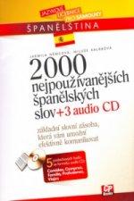 2000 nejpoužívanějších španělských slov + 3CD