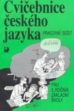 Cvičebnice českého jazyka pro 5.ročník základní školy