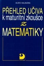Přehled učiva k maturitní zkoušce z matematiky