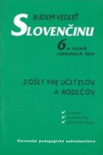 Budem vedieť slovenčinu 6. ročník základných škôl