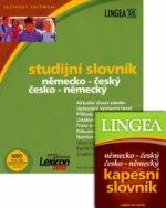 Studijní slovník něm.-český a česko-něm. na CD-ROM a kapesní slovník
