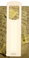 Antická záložka Chrám krémová - AZ 009