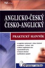 Anglicko-český, česko-anglický praktický slovník + CD