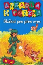 Říkadla s puzzle Skákal pes přes oves