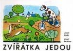 Zvířátka jedou - Josef Lada - omalovánka