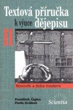 Textová příručka k výuce dějepisu II.