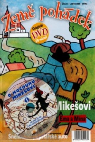 Země pohádek O kocouru Mikešovi + DVD