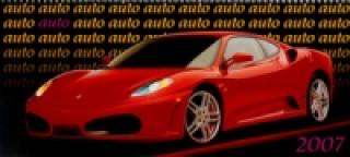 Auto 2007 - stolní kalendář