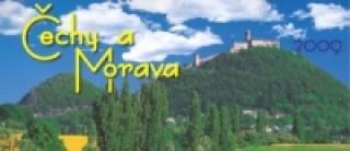 Čechy a Morava 2009 - stolní kalendář