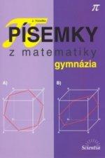Písemky z matematiky gymnázia