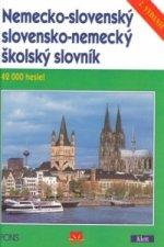 Nemecko-slovenský slovensko-nemecký školský slovník