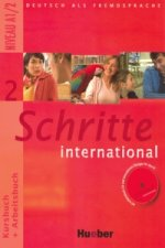 Schritte International 2 KB+AB mit CD