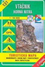 Vtáčnik Horná Nitra 1:50 000
