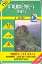 Stolické vrchy Revúca 1:50 000