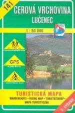 Cerová vrchovina Lučenec 1:50 000