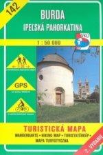 Burda Ipeľská pahorkatina 1:50 000
