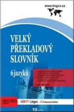 Velký překladový slovník 6 jazyků