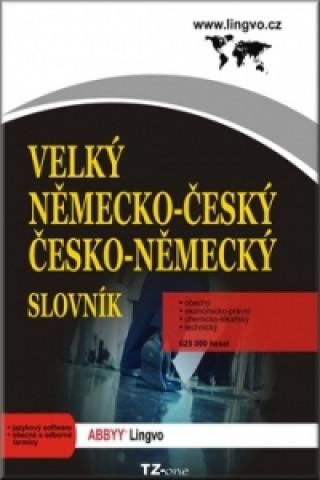 Velký německo-český/ česko-německý slovník - CD-ROM