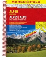 Alpen Alpes/Alps 1:300 000