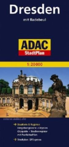 Dresden mit Radebeul 1: 20 000