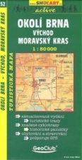 Okolí Brna - východ, Moravský kras 1:50 000