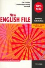 New English file elementary Studenťs Book s anglicko-českým slovníčkem