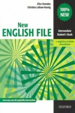 New English file Intermediate Student's book + Czech wordlist