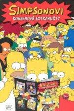 Simpsonovi Komiksové extrabuřty