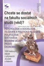 Chcete se dostat na fakultu sociálních studií (věd)? 2.díl
