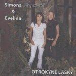 Otrokyně lásky - písňové texty - CD