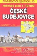 České Budějovice  městský plán 1:10 000